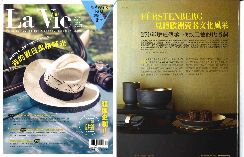 Veröffentlichung OMNIA RITUAL im Magazin La Vie