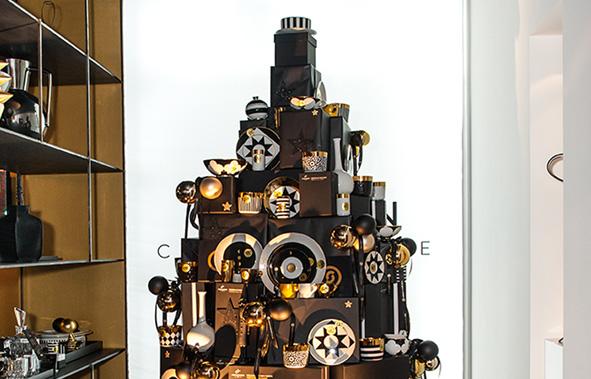 FÜRSTENBERG Weihnachtsbaum im Cadman Concept Store