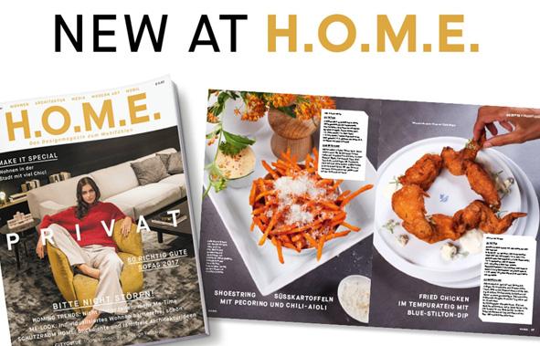 Veröffentlichung von Omnia in dem Magazin HOME