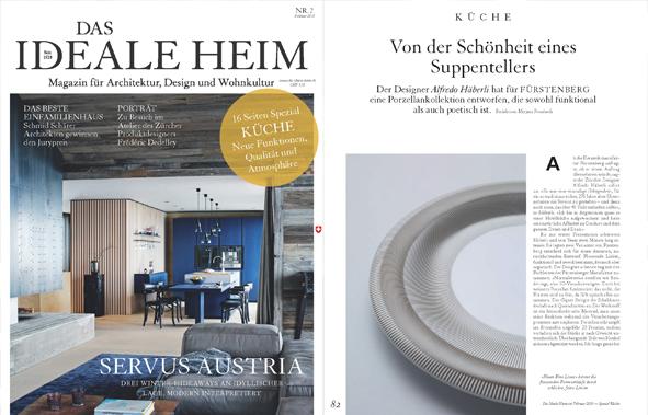 Fluen im Magazin Das ideale Heim aus der Schweiz