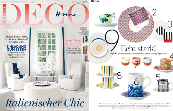 Fluen in dem Magazin Deco Home
