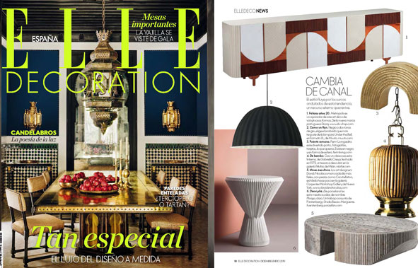 Plisago in Elle Decoration