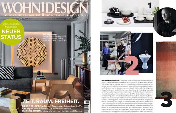 Veröffentlichung PLISAGO in der Wohn!Design