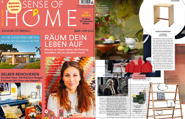 Coverbild des Magazins Sense of Home