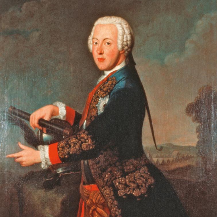 Bild von Herzog Karl dem Ersten, Gründer der Porzellanmanufaktur FÜRSTENBERG_FÜRSTENBERG Porzellan