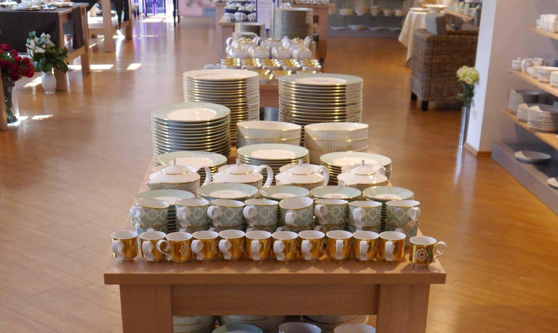 Bunter Wochen im Manufaktur Werksverkauf der Porzellanmanufaktur FÜRSTENBERG