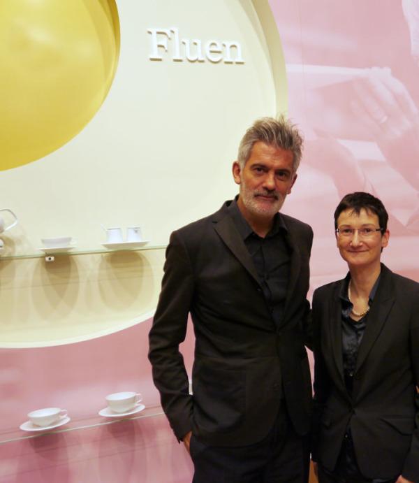 Alfredo Häberli und Stephanie Saalfeld