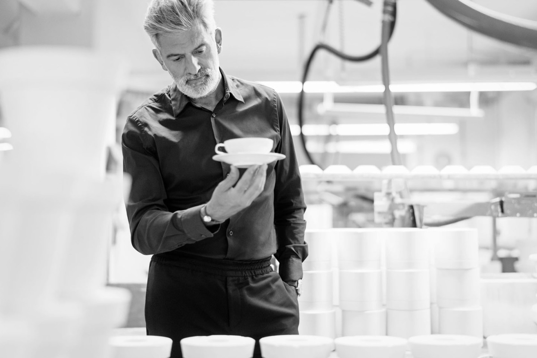 Alfredo Häberli Designer für die Porzellanmanufaktur FÜRSTENBERG