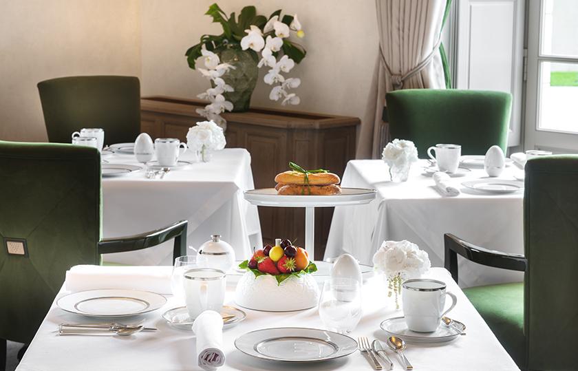 FÜRSTENBERG Porzellan im Hotel Lalique