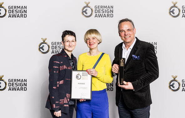 Preisverleihung German Design Award Plisago