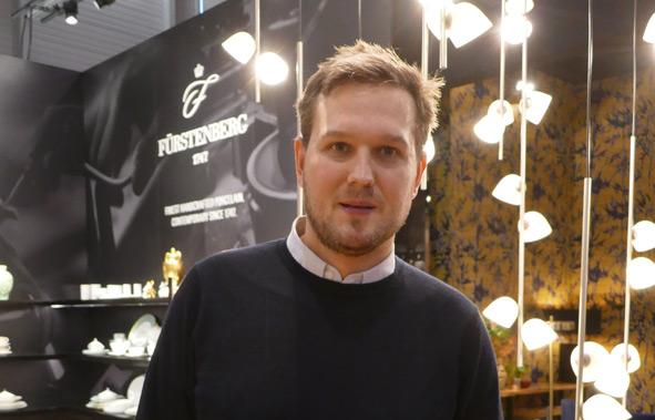 Sebastian Herkner auf M&O