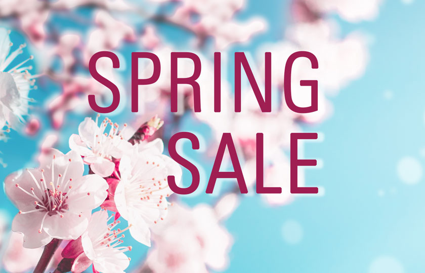Kirschblüten mit Schriftzug Spring Sale