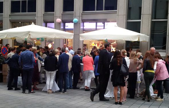 Sommerfest bei unserem Partner Stamm in Wien