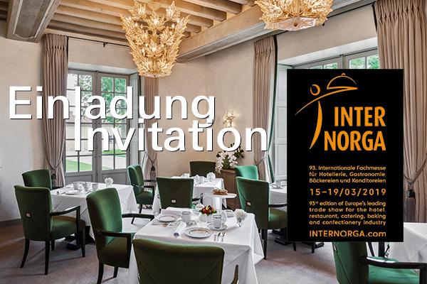 Einladung zur Internorga 2019